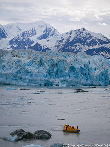 Hubbard Glacier - crew excursion