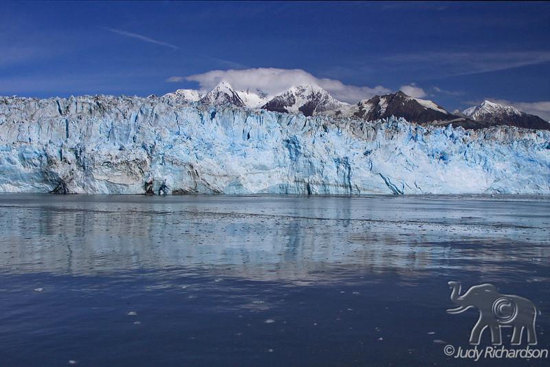 Hubbard Glacier reflections