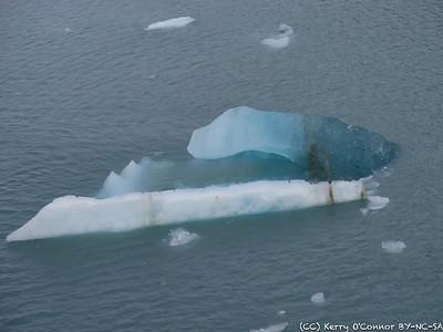 Hubbard Glacial ice