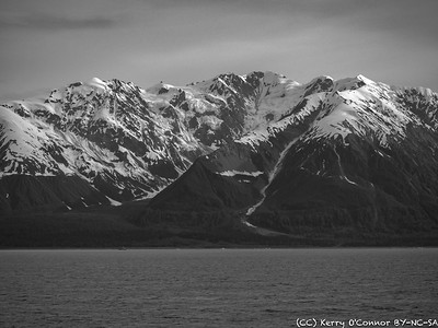 Landscape En Route to Hubbard Glacier