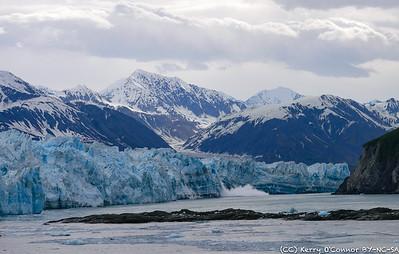 Hubbard Glacier splash