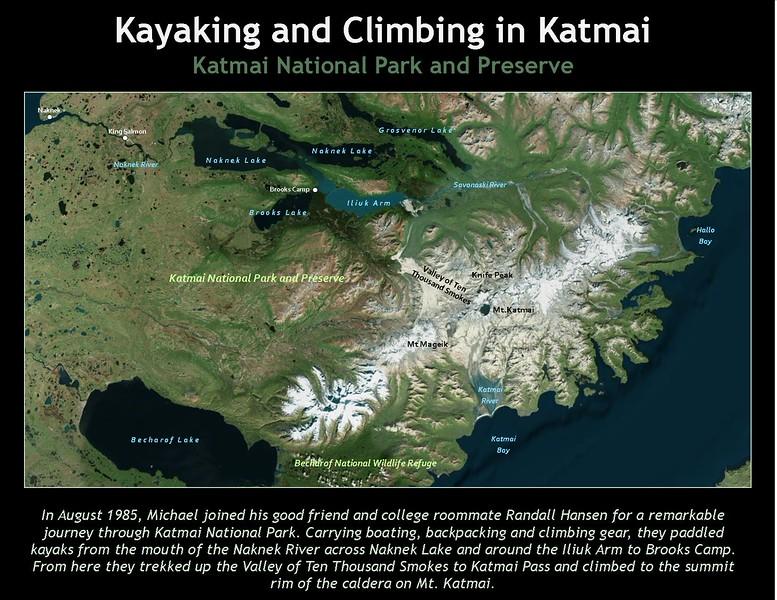Title Slide 1 - Mt Katmai 1985