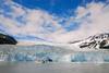 Tour boat at Holgate Glacier.