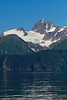 Unnamed peak, Aialik Bay, Kenai Fjords National Park, Alaska