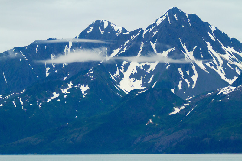 Mountains & Clouds, Aialik Bay, Kenai Fjords National Park, Alaska