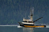 Fishing boat on Resurrection Bay, Seward, Alaska