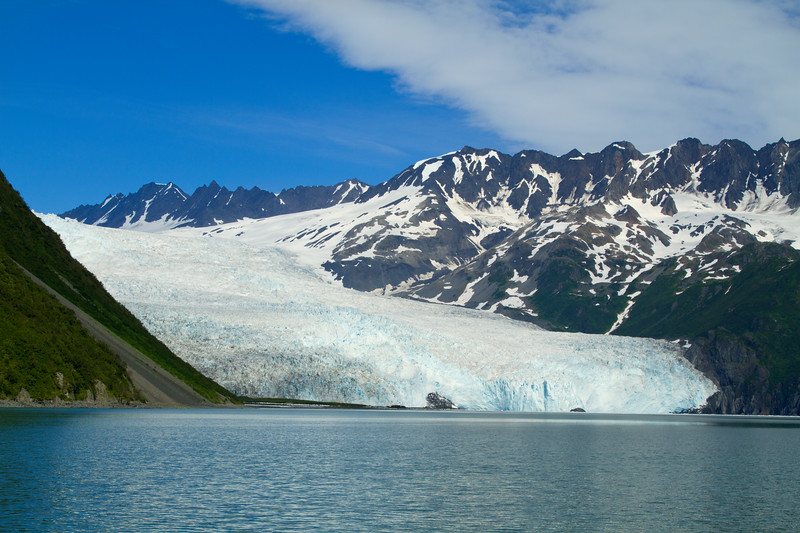 Landscape photo in Aialik Bay, Kenai Fjords National Park, Alaska