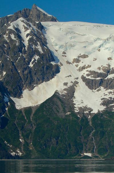 Unnamed peak, Aialik Bay, Kenai Fjords National Park, Alaska