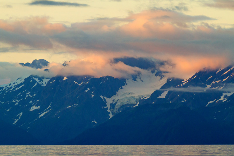 Sunset, Resurrection Bay, Seward, Alaska