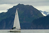 Sailboat on Resurrection Bay, Seward, Alaska