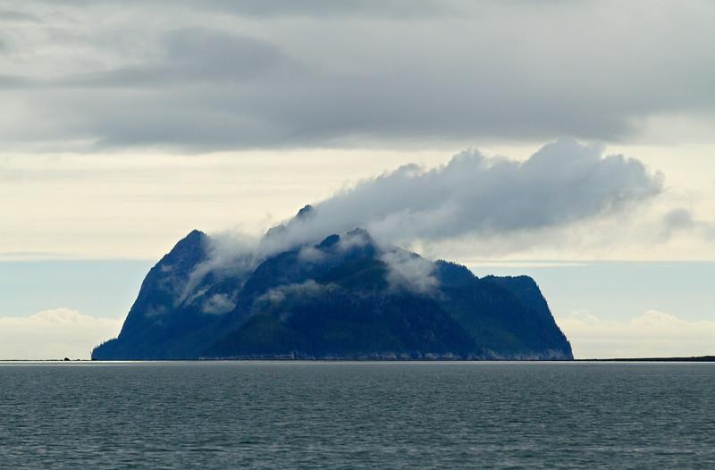 Granite Island in Harris Bay, Kenai Fjords National Park, Alaska