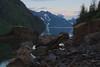 HDR photo in Aialik Bay, Kenai Fjords National Park, Alaska