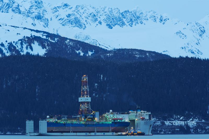 Heavy Lift Ship, Seward, Alaska