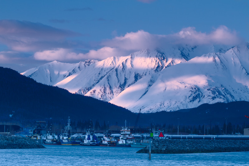 Harbor Entrance, Seward, Alaska