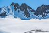 Mountaineers ascending Mt. Eva