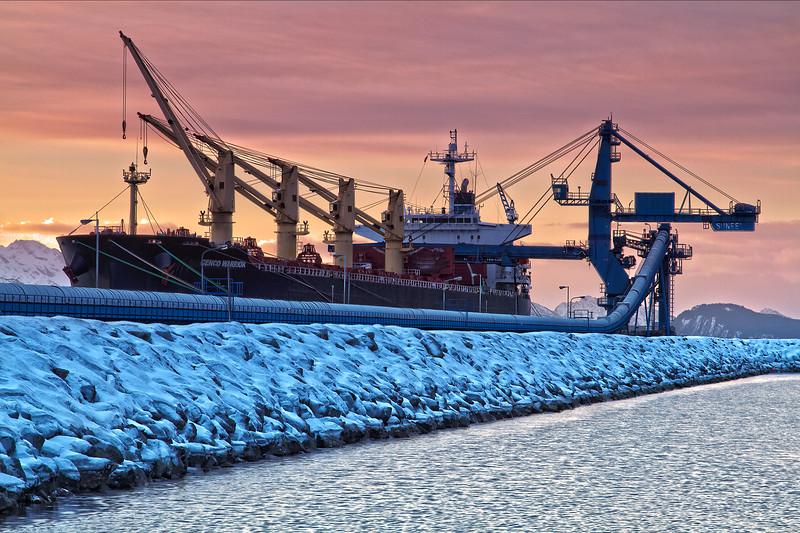 Coal Ship, Seward, Alaska