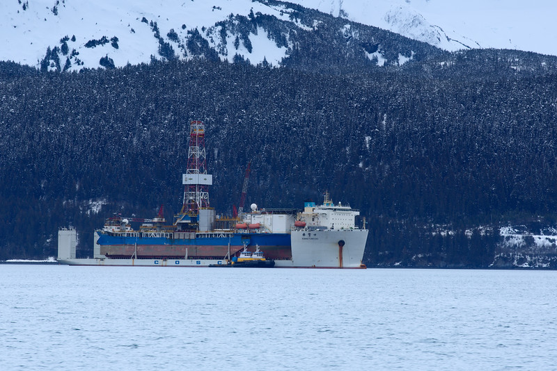 Heavy Lift Ship, Seward, Alaska