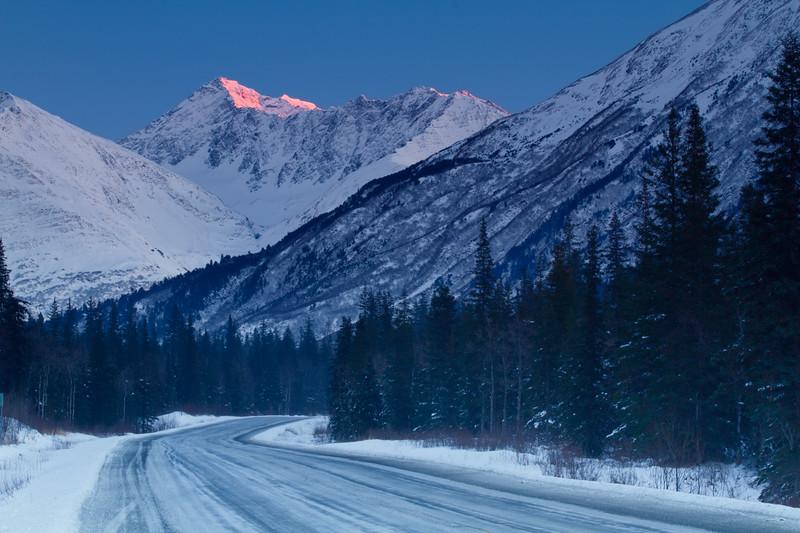Seward Highway, Kenai Peninsula, Alaska