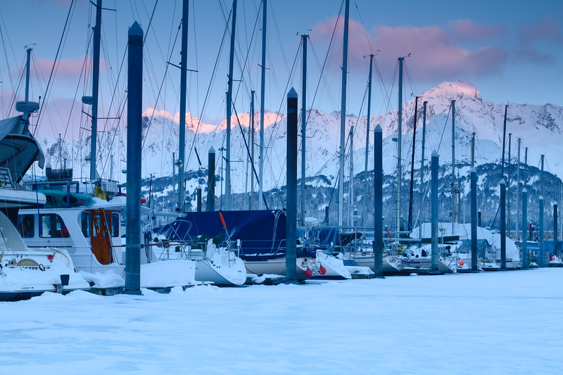 Seward Boat Harbor, Seward, Alaska
