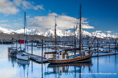 Seward Alaska Boat Harbor