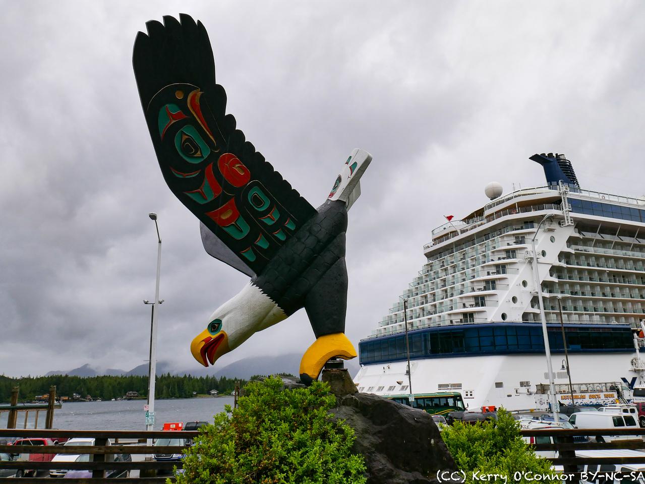 Eagle totem moons cruise ships