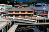 Ketchikan float plane dock from air plane