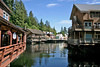 Ketchikan shops on a sunny day
