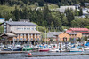 The marina in  the city of Ketchikan, Alaska, USA.
