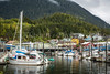 The marina in Ketchikan, Alaska, USA.