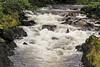 Rushing stream in Ketchikan town