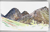 In the Ahklun Mountains. Seaver Leslie print 1.