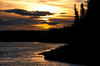 AKS00-096a Kobuk sunset