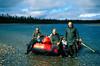 AKS00-082a Kobuk raft