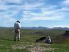 On the Spiny Ridge saddle
