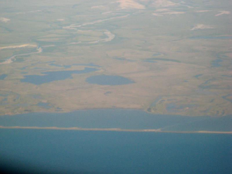 Coastal view heading south to Kotzebue