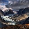 Glacier near Turquoise Lake