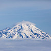 The very active volcano, Mt. Redoubt.