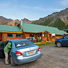 Our lodging in Matanuska, the Sheep Mountain Lodge.