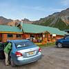 Our lodging in Matanuska, the Sheep Mountain Lodge.