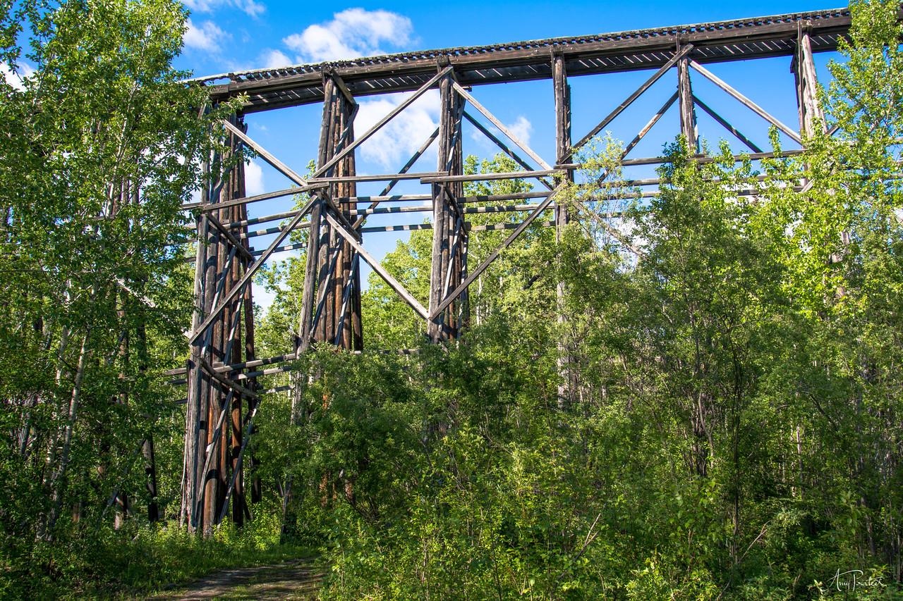 Wooden Rail Bridge