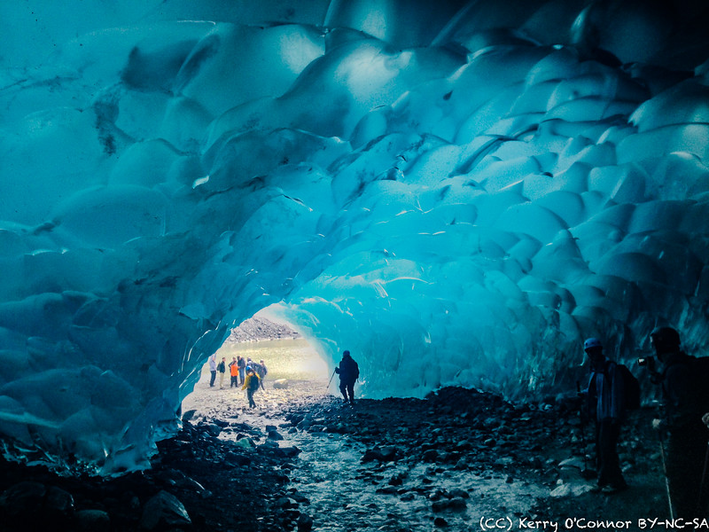 Medenhall Glacier Ice Cave