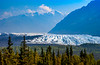 The Metanuska Glacier along the Glenn Hignway, Alaska, USA.
