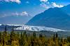 The Metanuska Glacier along the Glenn Hignway, Alaska, USA.