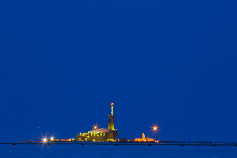 Drilling Rig, Prudho Bay, Alaska