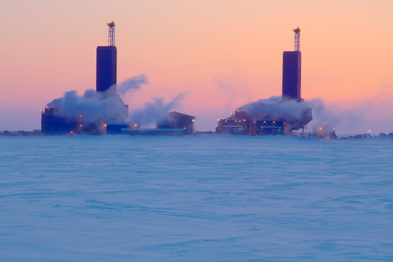 Drilling Rigs, Prudhoe Bay, Alaska