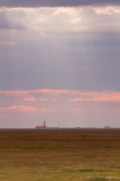 Oil Well Drilling, North Slope, Alaska