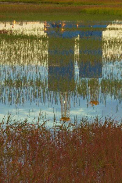Rig Reflections, Prudhoe Bay, Alaska