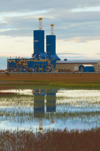 Drilling Rigs, Prudhoe Bay, Alaska