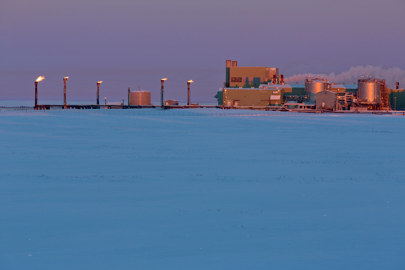 Production Facility, Prudhoe Bay, Alaska