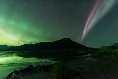 Twenty mile Auroras